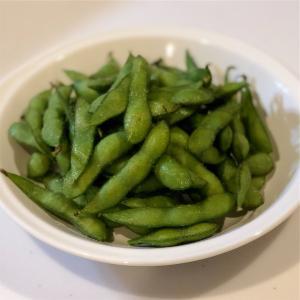 春野菜のちゃんぽんスープ&枝豆