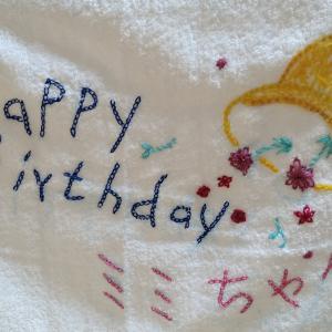 祝 1歳になりました(*^^)v