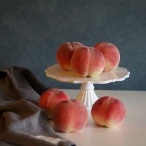 とびっきりの桃でデザート