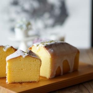 夏でも美味しいレモンケーキ