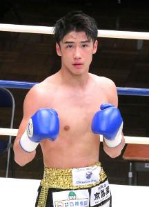 ボクシングのアマ3冠・木村蓮太朗、2回TKOデビュー