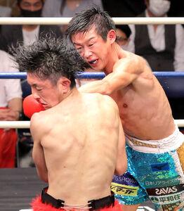 東洋太平洋・WBOアジアパシフィックフェザー級王座統一戦 結果