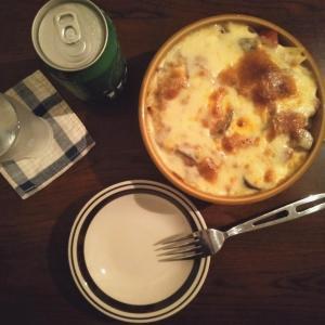 茄子と豚バラのトマトペンネグラタン/フレンズ