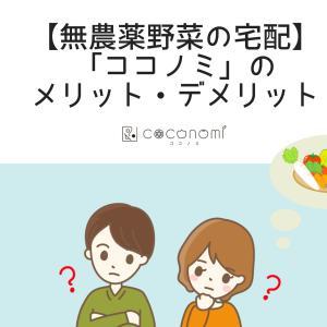 【無農薬野菜の宅配】「ココノミ」のメリット・デメリット
