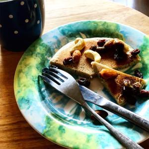 【レシピ】グルテンフリー・アレルギー対応♬そば粉パンケーキ・ホットケーキの作り方♬乳小麦卵アレルギー☆簡単・無添加♬
