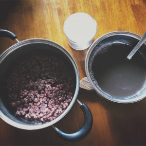 【レシピ】圧力鍋で簡単あずきの茹で方*あんことおしるこの作り方もあり*和スイーツ*