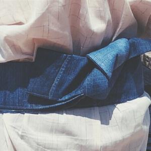 浴衣*男物の帯アレンジ*手作り*おすすめミシンについて*