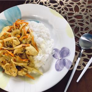 おすすめレシピ美肌デトックス効果◎鶏と野菜の簡単カレー味レシピ*ターメリック*iHerbおすすめスパイス