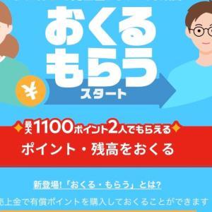 もれなく500P目指せ3000P【メイペイおくる・もらう】やり方・送金方法とキャンペー