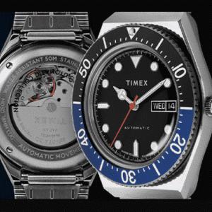 【時計】TIMEX  日本初上陸!人気シリーズ「タイメックス キュー」の派生モデル『M79』を10月28日発売…裏蓋がスケルトン仕様でカッコイイぞ!!