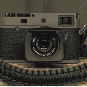 """【カメラ】Leica  防弾ベストのケブラー素材を貼った「ライカM10-P """"Reporter""""」1月24日に発売…希望小売価格は税別105万円。"""