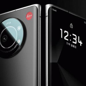 【スマホ】ライカ初のスマートフォン「LEITZ PHONE 1」発表…ソフトバンク独占販売!