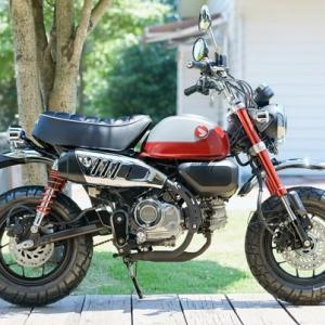 【バイク】ホンダ「モンキー125」5速トランスミッション採用の新エンジン搭載!…9月27日に発売、価格は44万円。