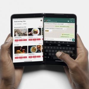 【スマホ】Microsoft   折りたたみスマートフォン「Surface Duo 2」発表…質問!「OS」は何ですか?