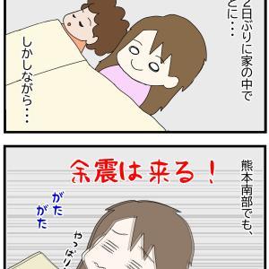 247. 息子誕生記75 (熊本地震 避難したら)