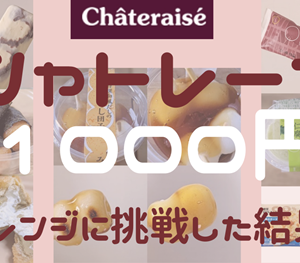 【SNSで話題!?】シャトレーゼ1000円チャレンジに挑戦した結果・・・