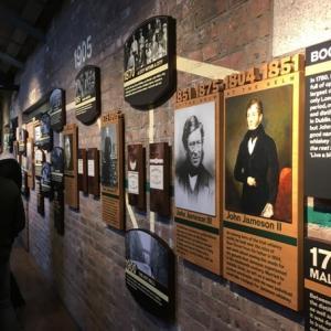 ジェムソン蒸留所ボウ・ストリートの見学ツアー