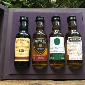 アイリッシュ・ウイスキーのミニチュア・ボトル – その1