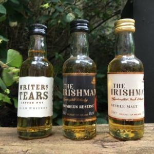 アイリッシュ・ウイスキーのミニチュア・ボトル – その3