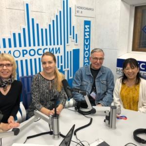 ロシアのテレビ&ラジオ出演!!!