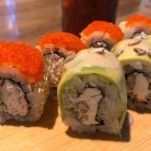 カラフルな外国寿司とストロベリーモヒート☆