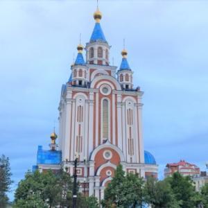 【ハバロフスク】ウスペンスキー教会とか