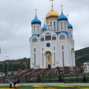 ユジノサハリンスクにあるロシア正教のご立派な教会