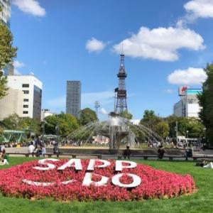 観光客が増えてきた札幌ですがインバウンドは全くいません