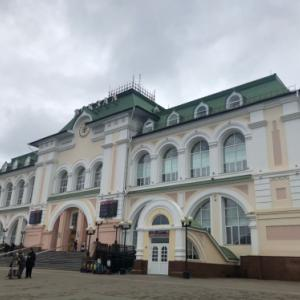 ロシア極東のハバロフスクは経由地として利用します