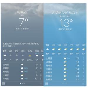 シベリアの方が札幌より暖かい!