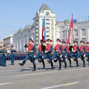 ロシアの戦勝記念日です