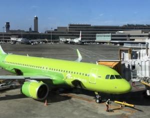 S7航空が成田便を再開しまーす!!!