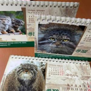 マヌルネコ特製カレンダーを発送いたしました。