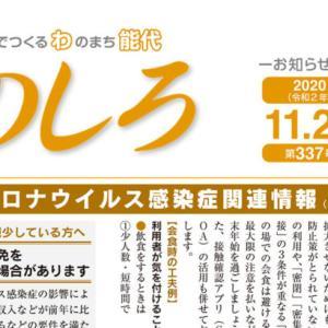 【11月25日付】能代山本地域広報一覧!