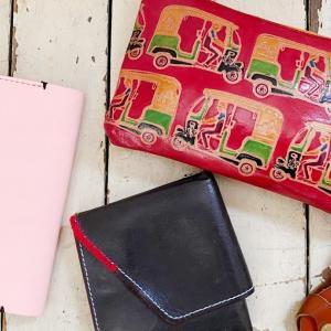 【お繕い部】アブラサスの旅行財布をカスタマイズ
