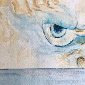 亡き祖母が大切にしていた置物の「唐獅子」が生きた姿で夢に現れた