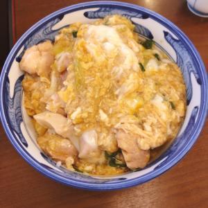 京都ひさごの親子丼 親の威厳