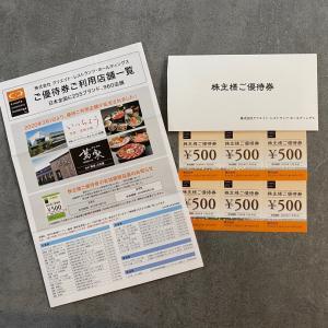 【株主優待】初取得のクリレスから待望だった優待券が届いた話。