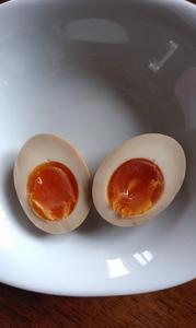 半熟味付卵