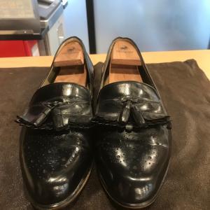 【ランバン】 動画あり靴磨きは水戸市の靴修理のみらい工房へ