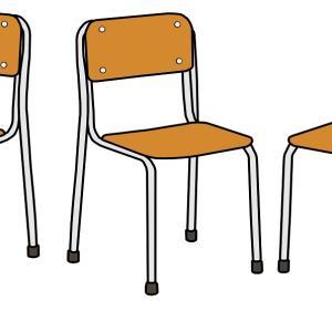 体育会(運動会)練習期間中でも楽々通信⑥「欠席してる人の椅子」