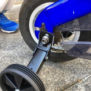へんしんバイクに補助輪をつけてみた