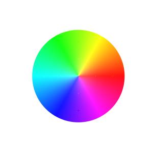 Python レインボーカラーコード作成(rainbow colorcode)