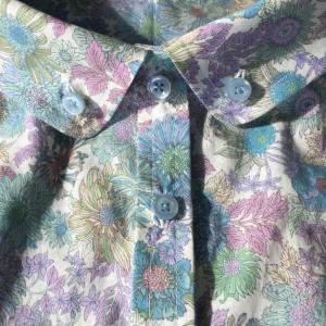 「おしゃれ着を手作りで。」より キャップスリーブブラウス を縫いました。