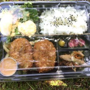 うちで食堂のお弁当テイクアウトとピクニック。