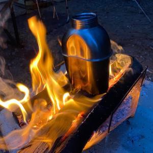 焚き火が出来れば良かったのに「そんなヒロシに騙されて」キャンプデビュー‼️