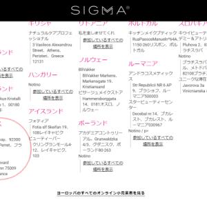 Sigma【シグマ】のメイクブラシ★かなりおすすめ★