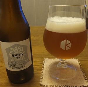 Mitsuke Local Brewery(新潟県)のBattery IPA