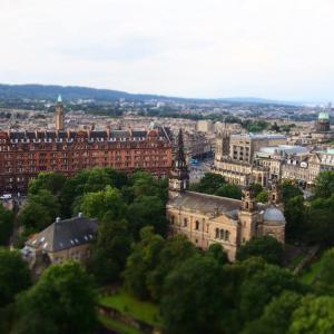 エディンバラの街を見渡すことのできる、エディンバラ城【Edinburgh Castle】