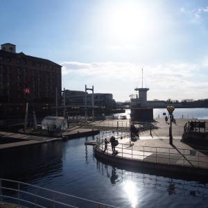【Salford Quays】晴れた日に訪れたいマンチェスターの観光スポット